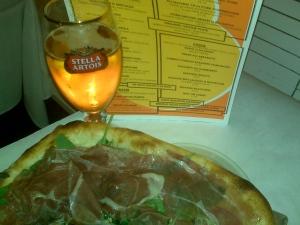 Pizza & Stella $10